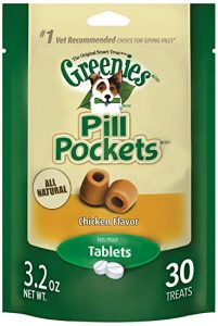 Greenies brand Pill Pockets for pet dogs